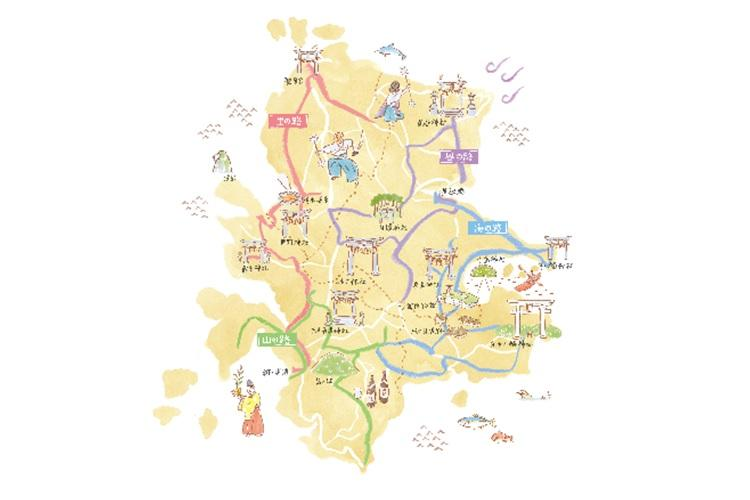 四十二社巡りマップ-0