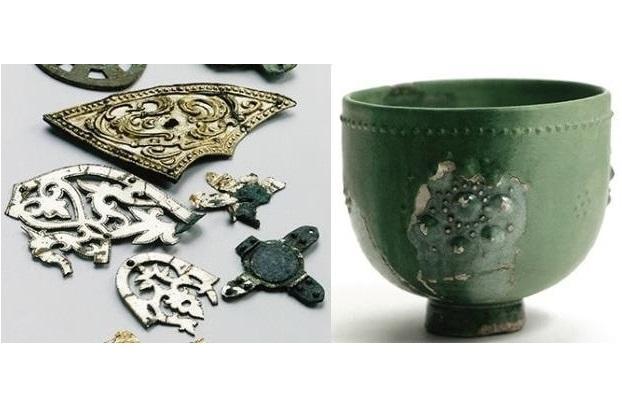 《国指定重要文化財》⑦双六古墳出土品-0