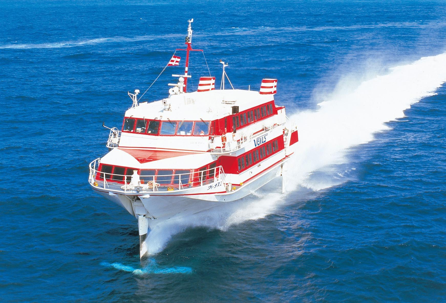 アクセス抜群!高速船で福岡から最速約65分!-2