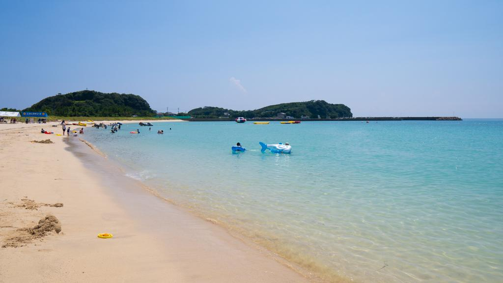 筒城浜海水浴場(つつきはま かいすいよくじょう)-2
