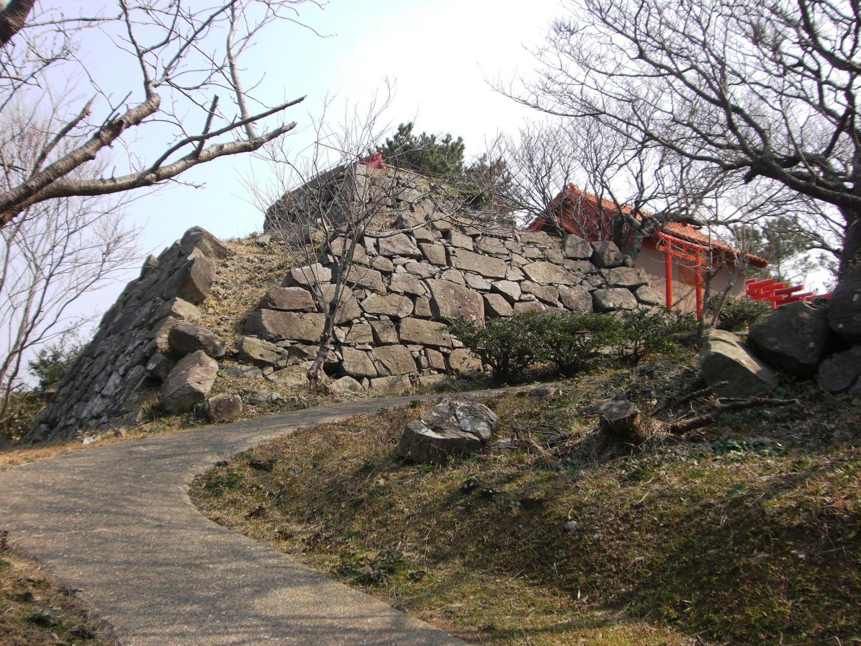 《国指定史跡》⑨勝本城跡-0