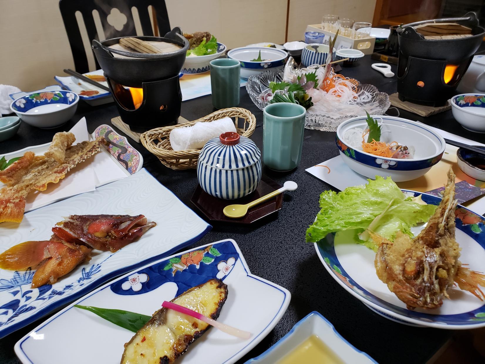 釣った魚で豪華なディナーを!-2
