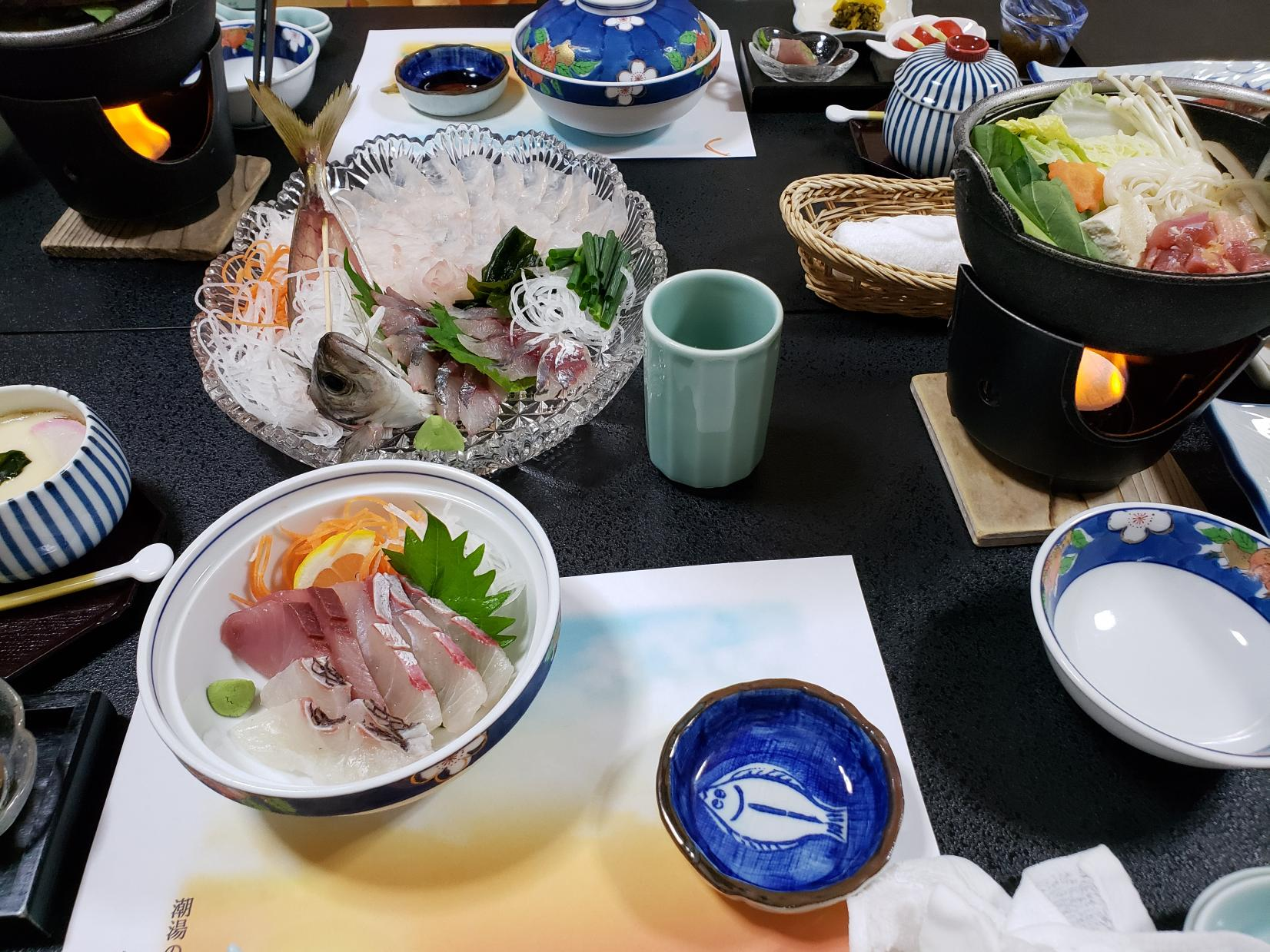 釣った魚で豪華なディナーを!-0