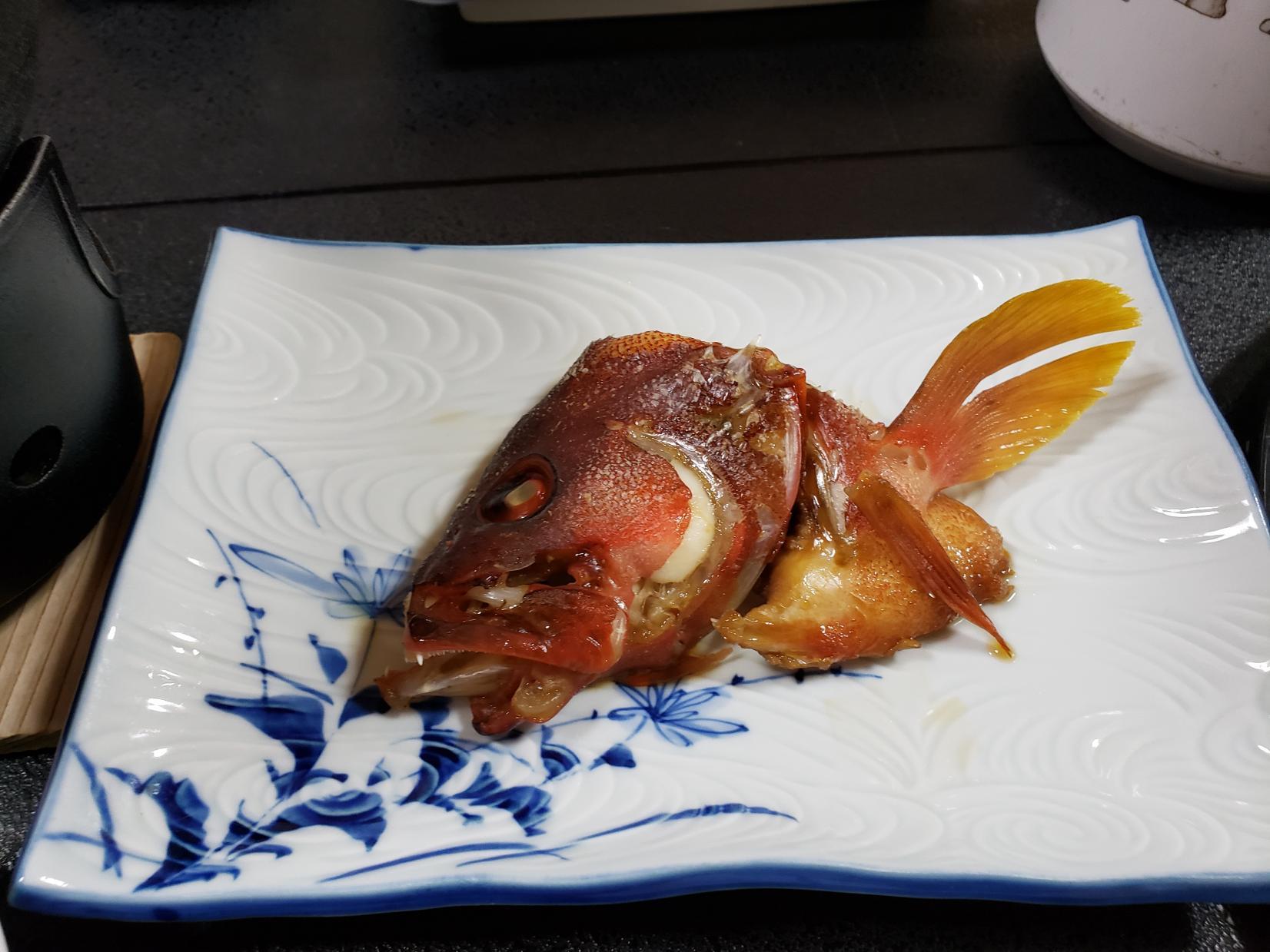 釣った魚で豪華なディナーを!-4