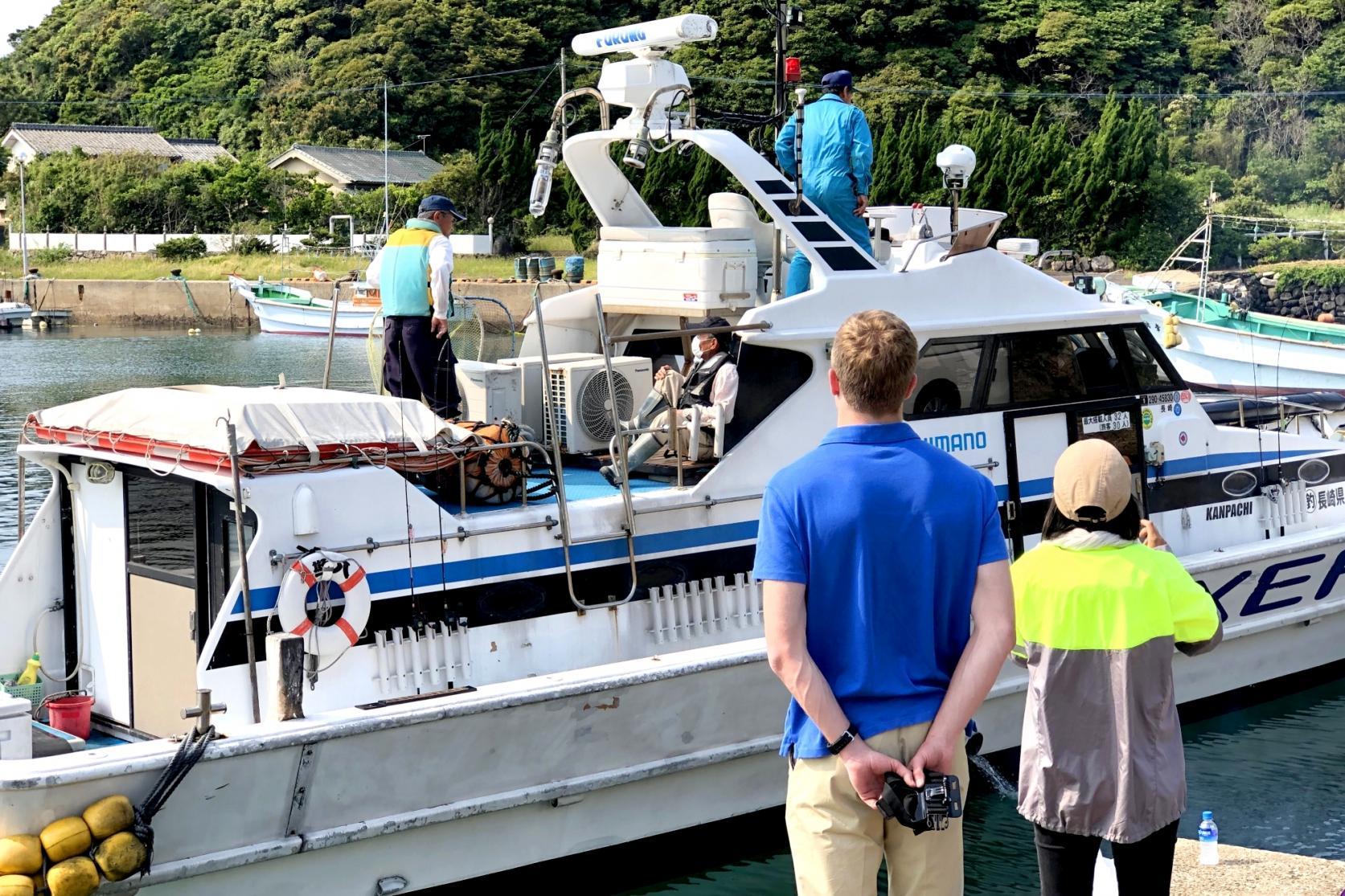 船釣り体験を終えて-0