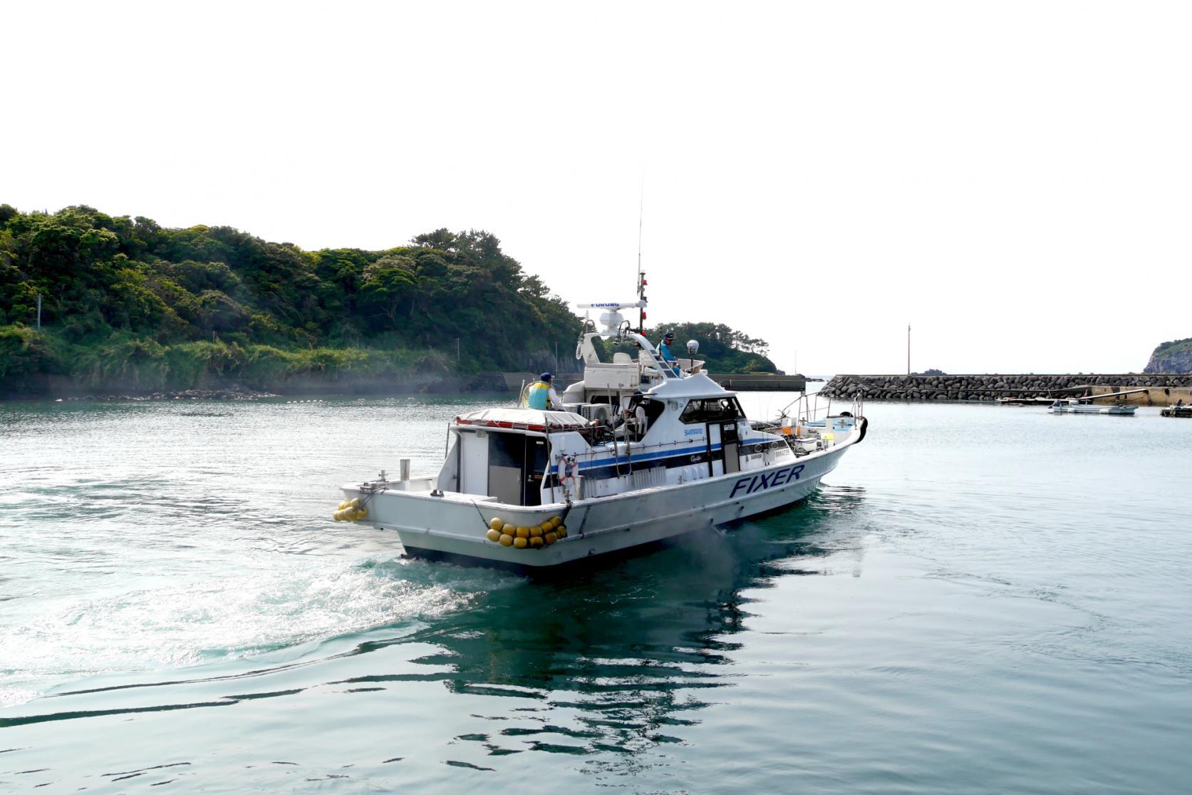 船釣り体験を終えて-1