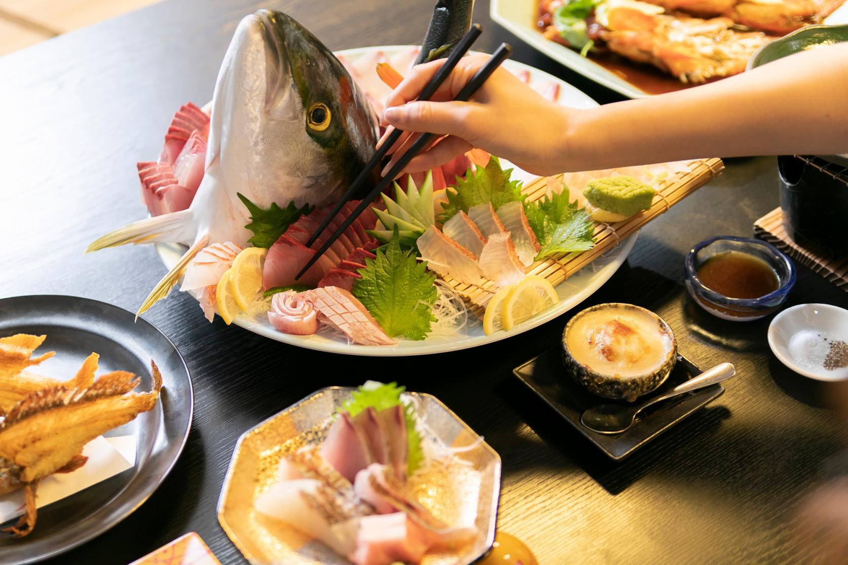 釣った魚を食べてみたいときは?-3