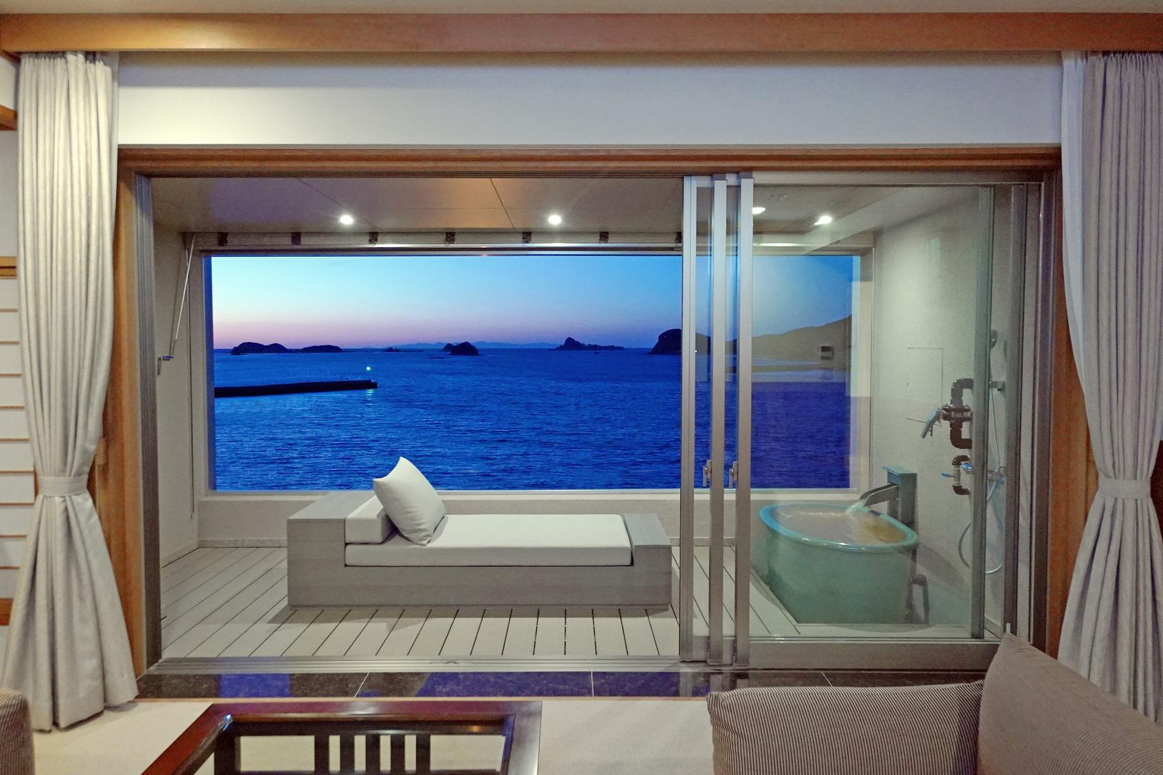 全室露天風呂付オーシャンビューの高級リゾートホテル 壱岐リトリート海里村上-2