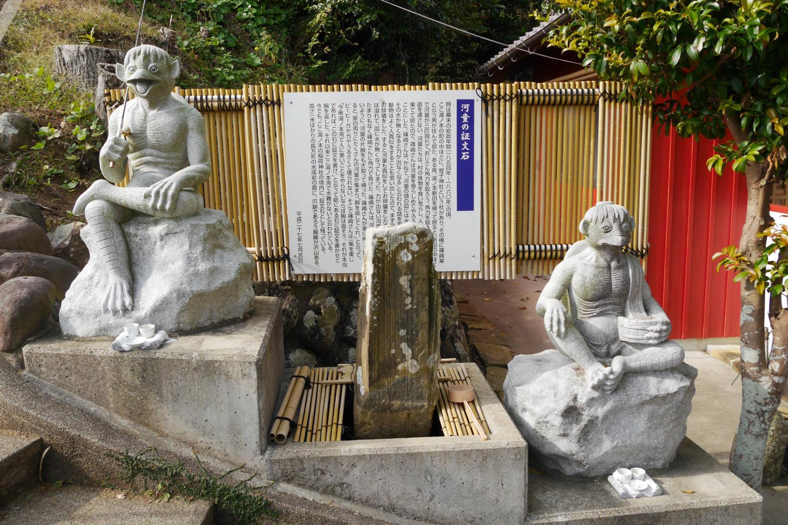 朱色の鳥居が連なる伏見稲荷神社-2