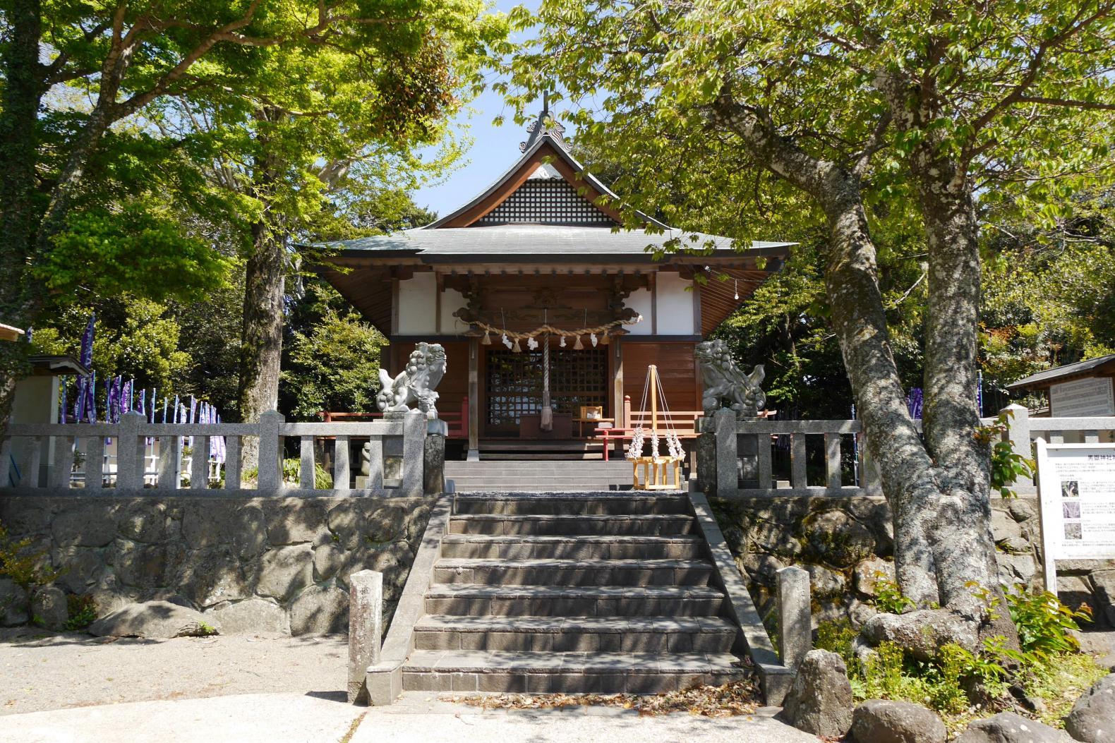 壱岐の夫婦神社-2