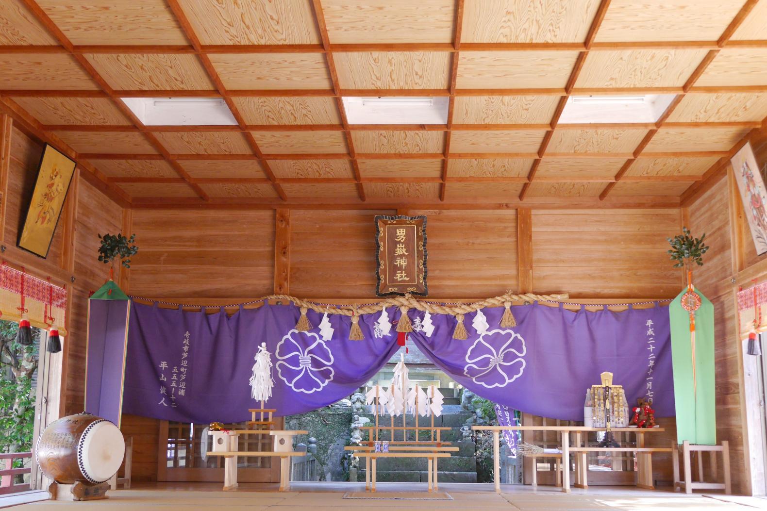 壱岐の夫婦神社-1