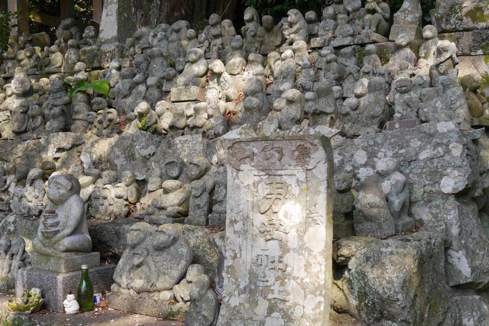 神聖な空気を味わえる男嶽神社-1