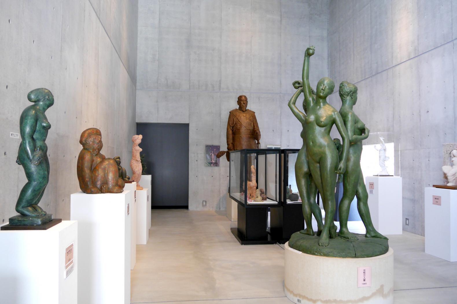 壱岐出身の彫刻家による作品を展示-0