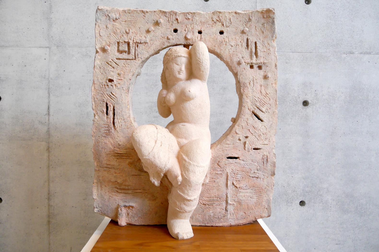 壱岐出身の彫刻家による作品を展示-2