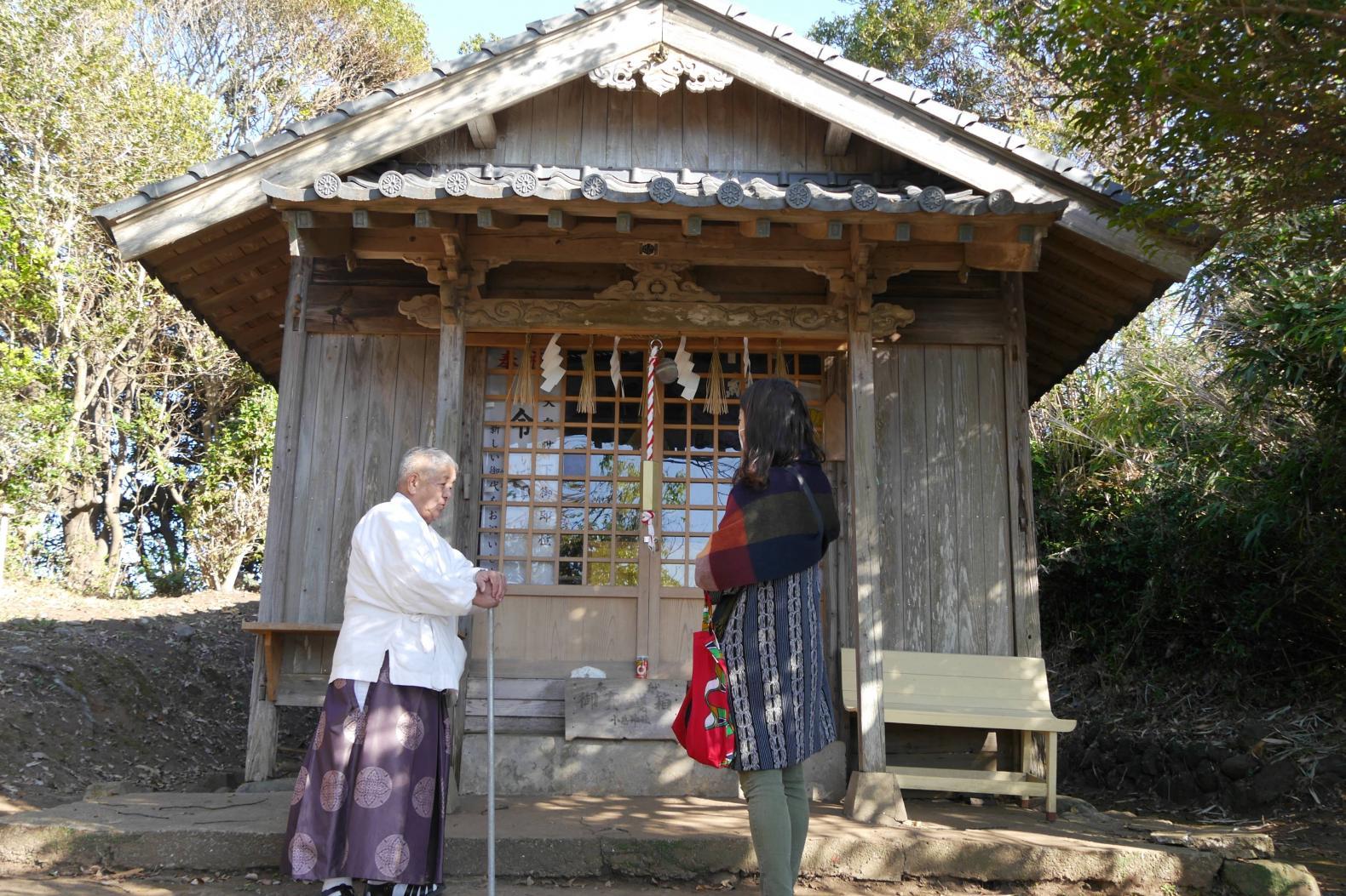 宮司と行く小島神社参拝プラン-2