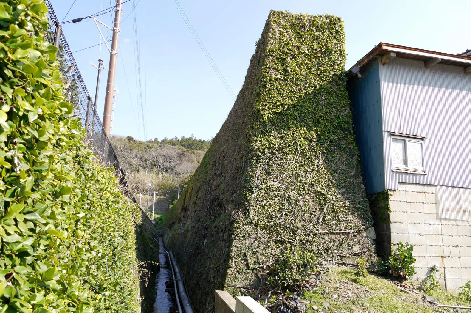 大石塀(通称:阿房塀)とお茶屋屋敷跡-0