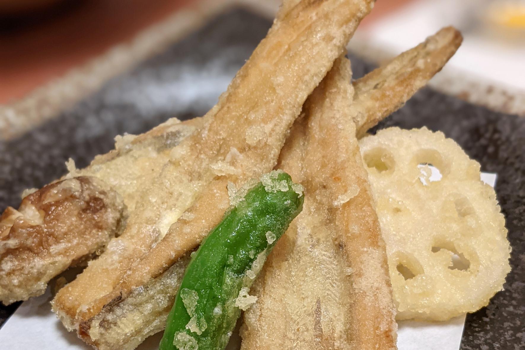 対馬名物「アナゴ」三昧の夕食-1