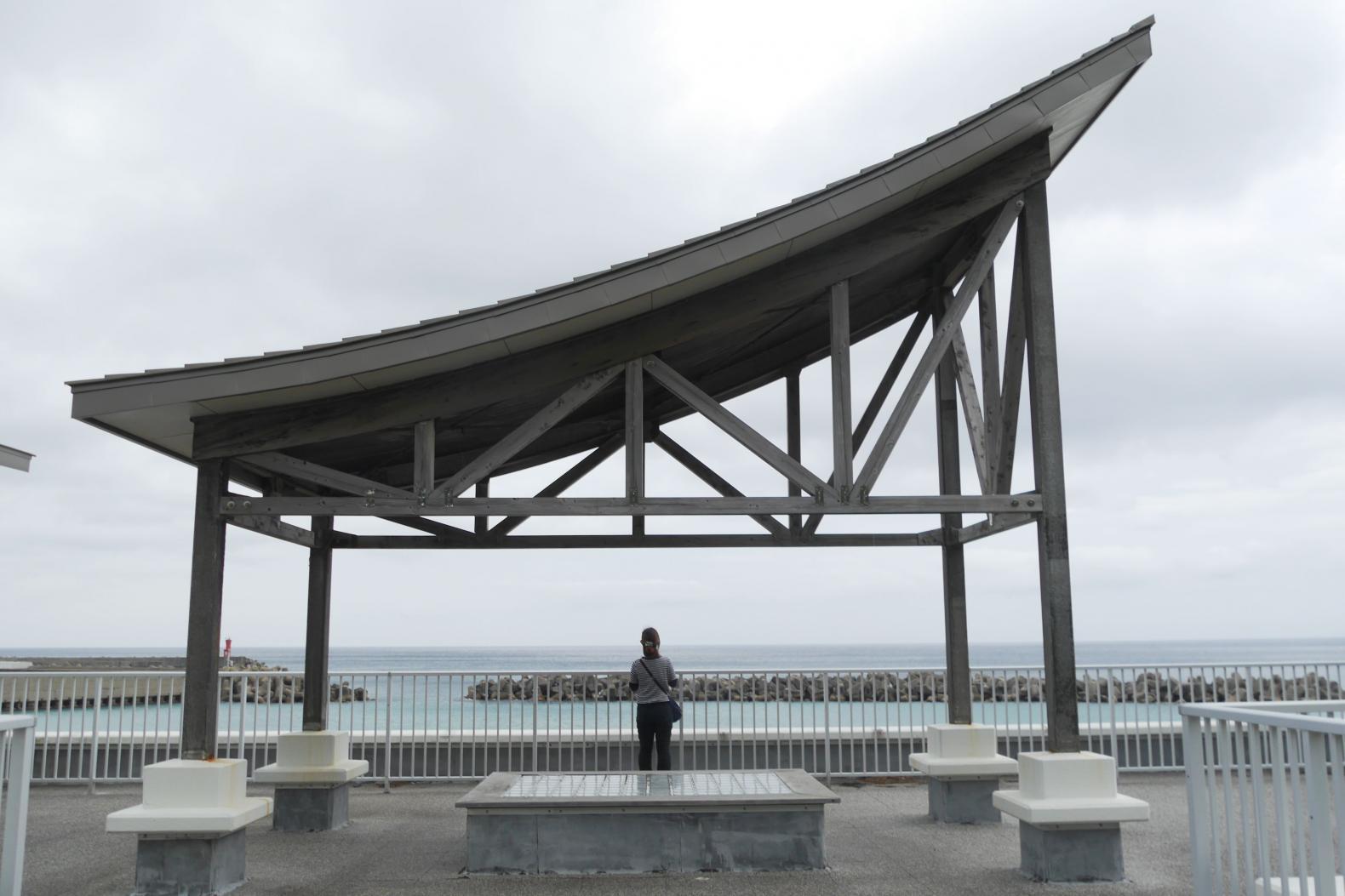 椎根の石屋根倉庫~小茂田浜神社~お船江-6