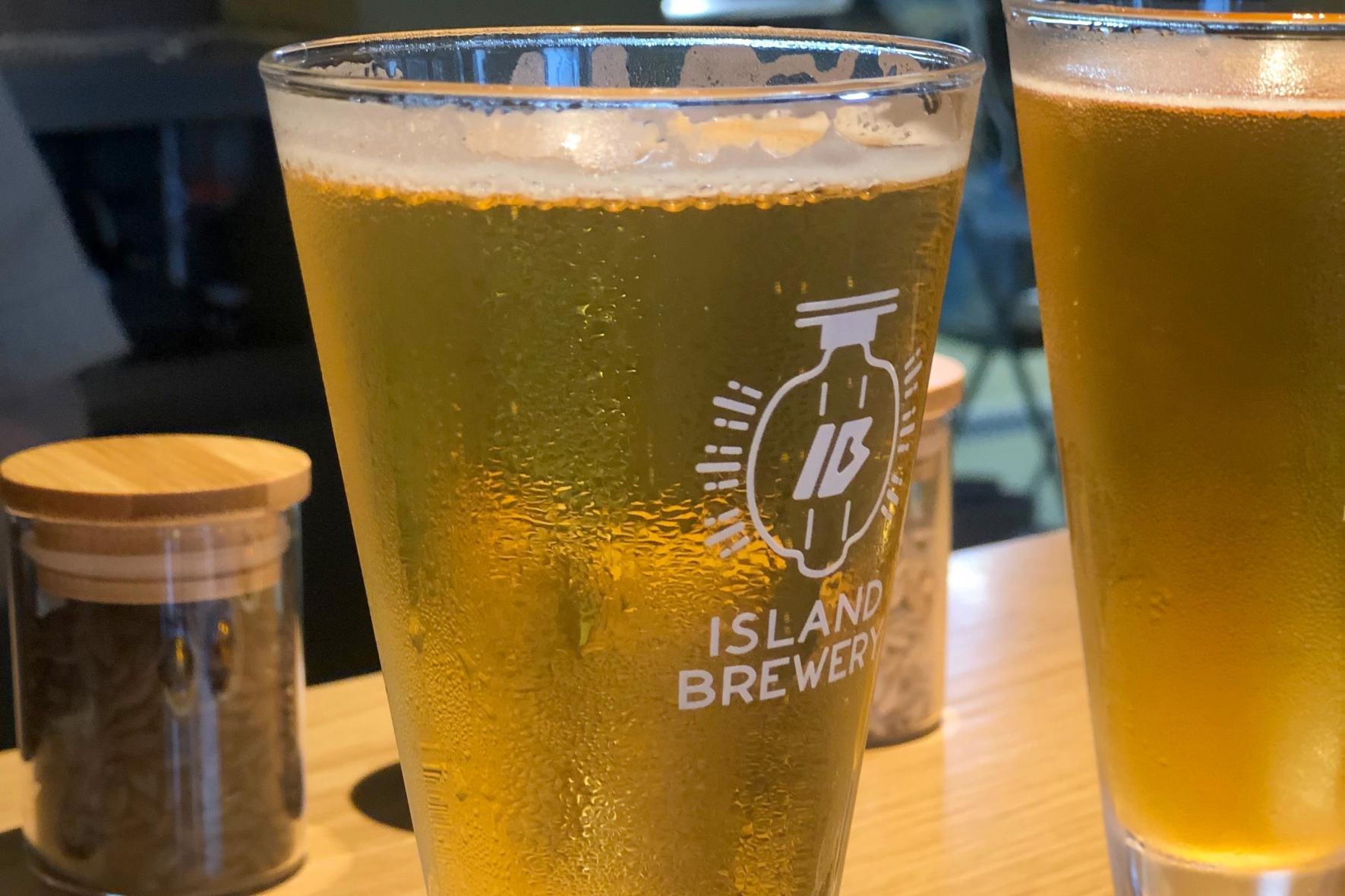 ISLAND BREWERYのフラッグシップビール「ゴールデンエール」-0