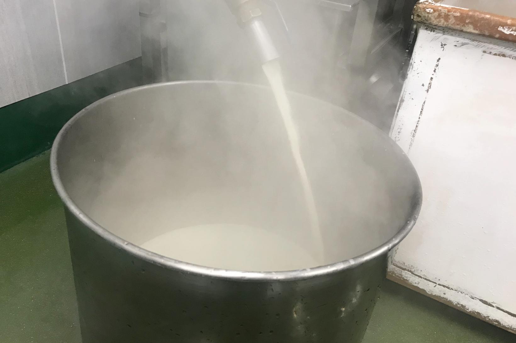 「壱州豆腐」の製造工程-1