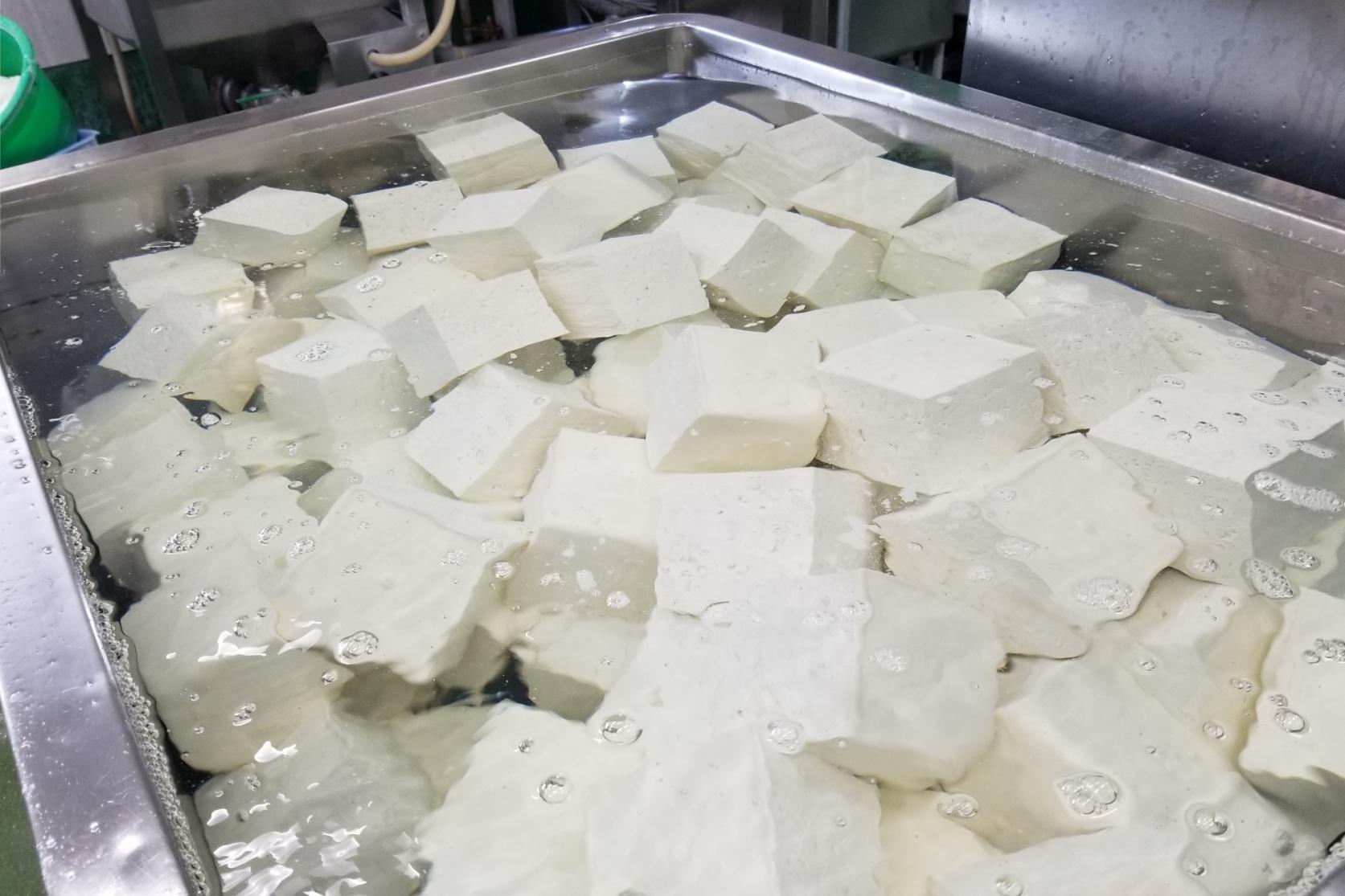 「壱州豆腐」の製造工程-6