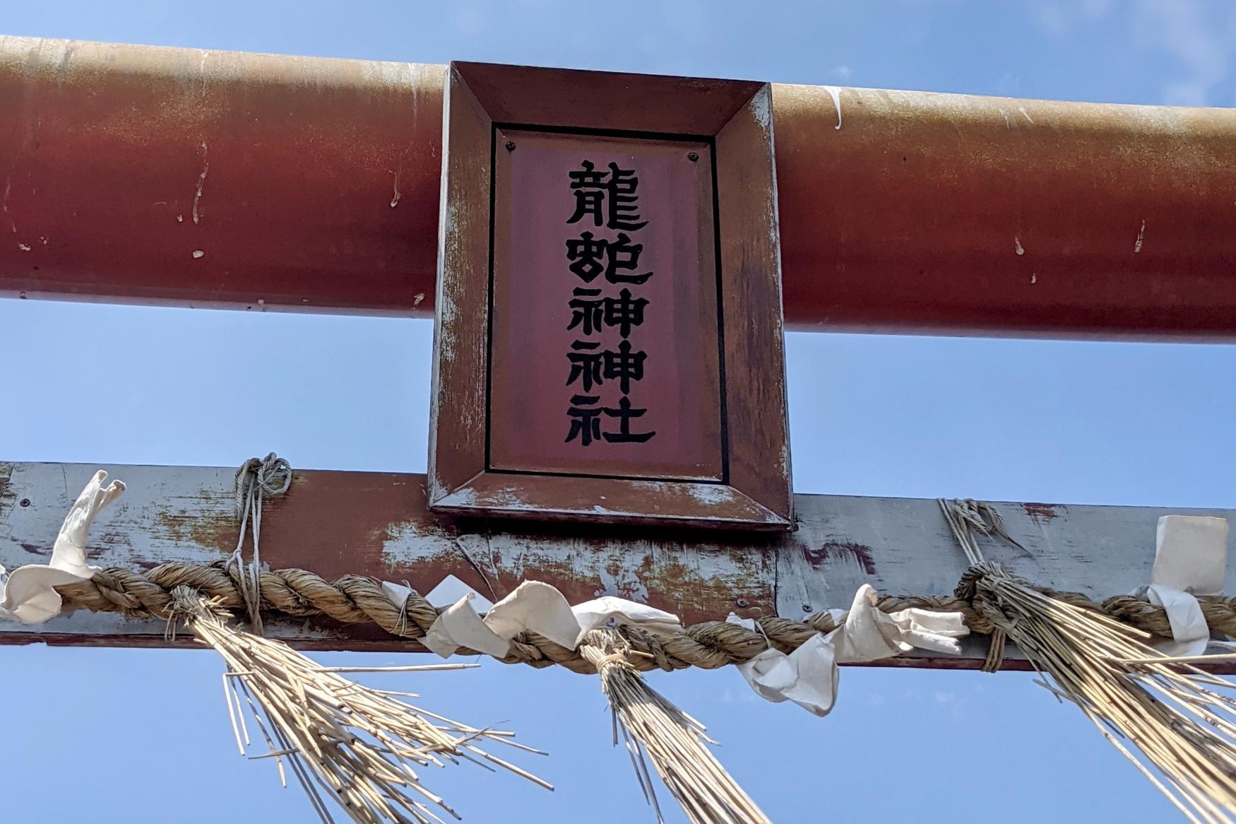 龍蛇神社(芦辺町) ~龍の背中?奇石が広がるパワースポット~-1