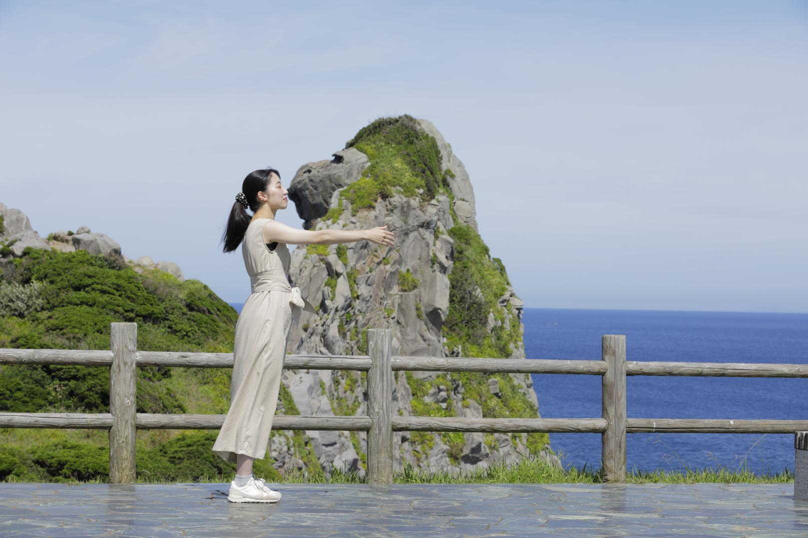 猿岩(郷ノ浦町) ~自然が創り出した黄昏れる奇岩~ -3