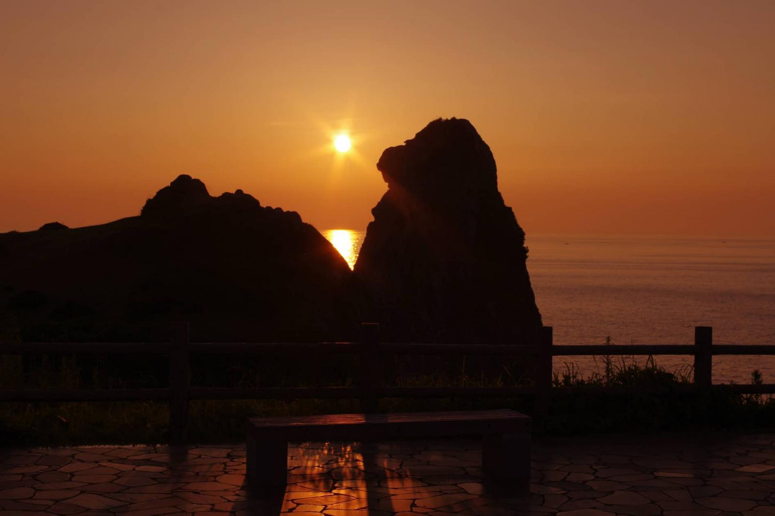猿岩(郷ノ浦町) ~自然が創り出した黄昏れる奇岩~ -0