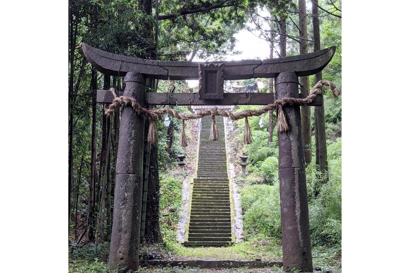 熊野神社(勝本町) ~脇道を下った先に見えるもの~-1