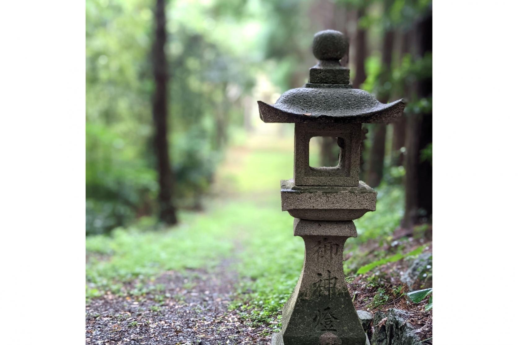 熊野神社(勝本町) ~脇道を下った先に見えるもの~-3