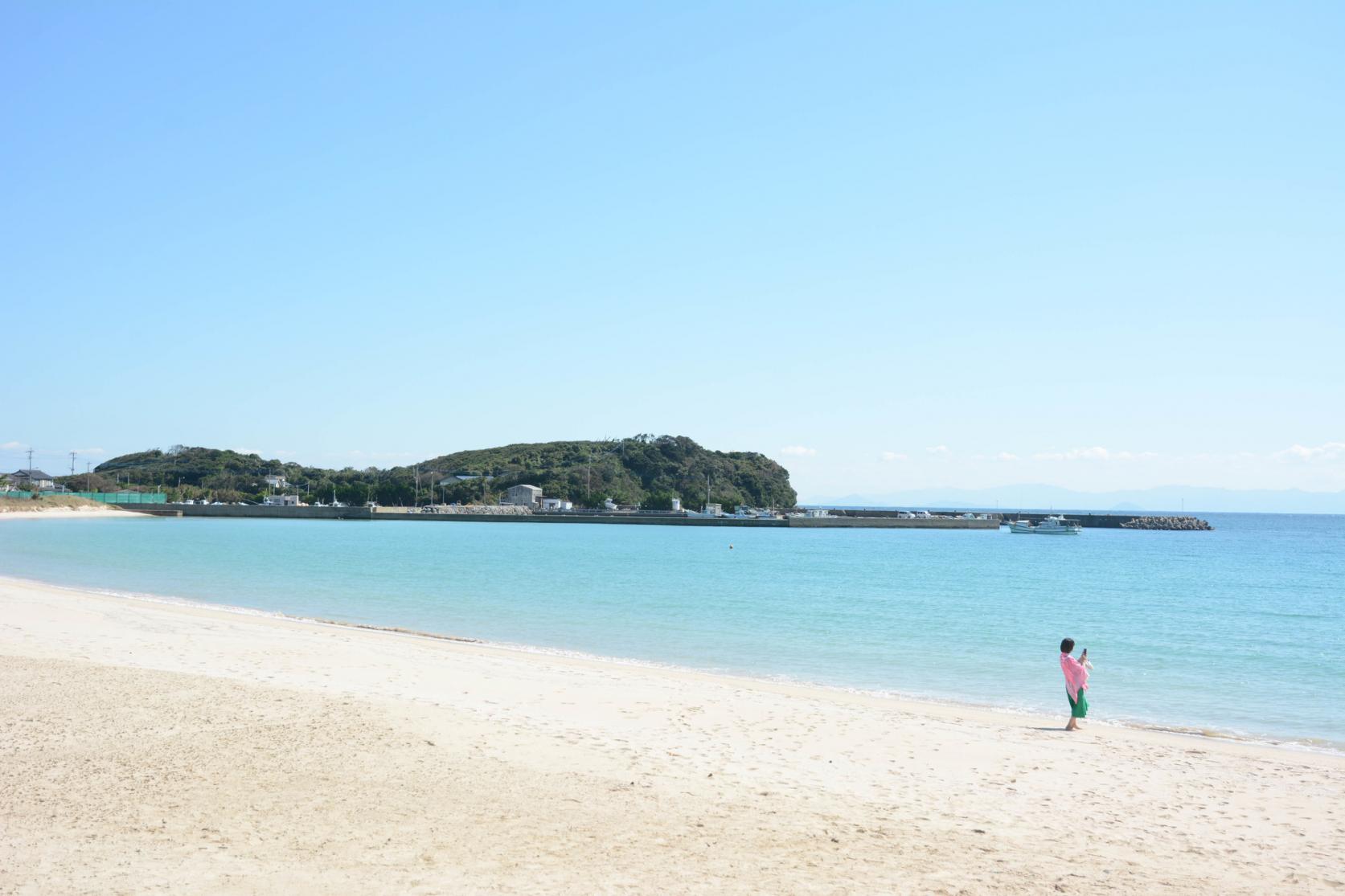 筒城浜海水浴場-1
