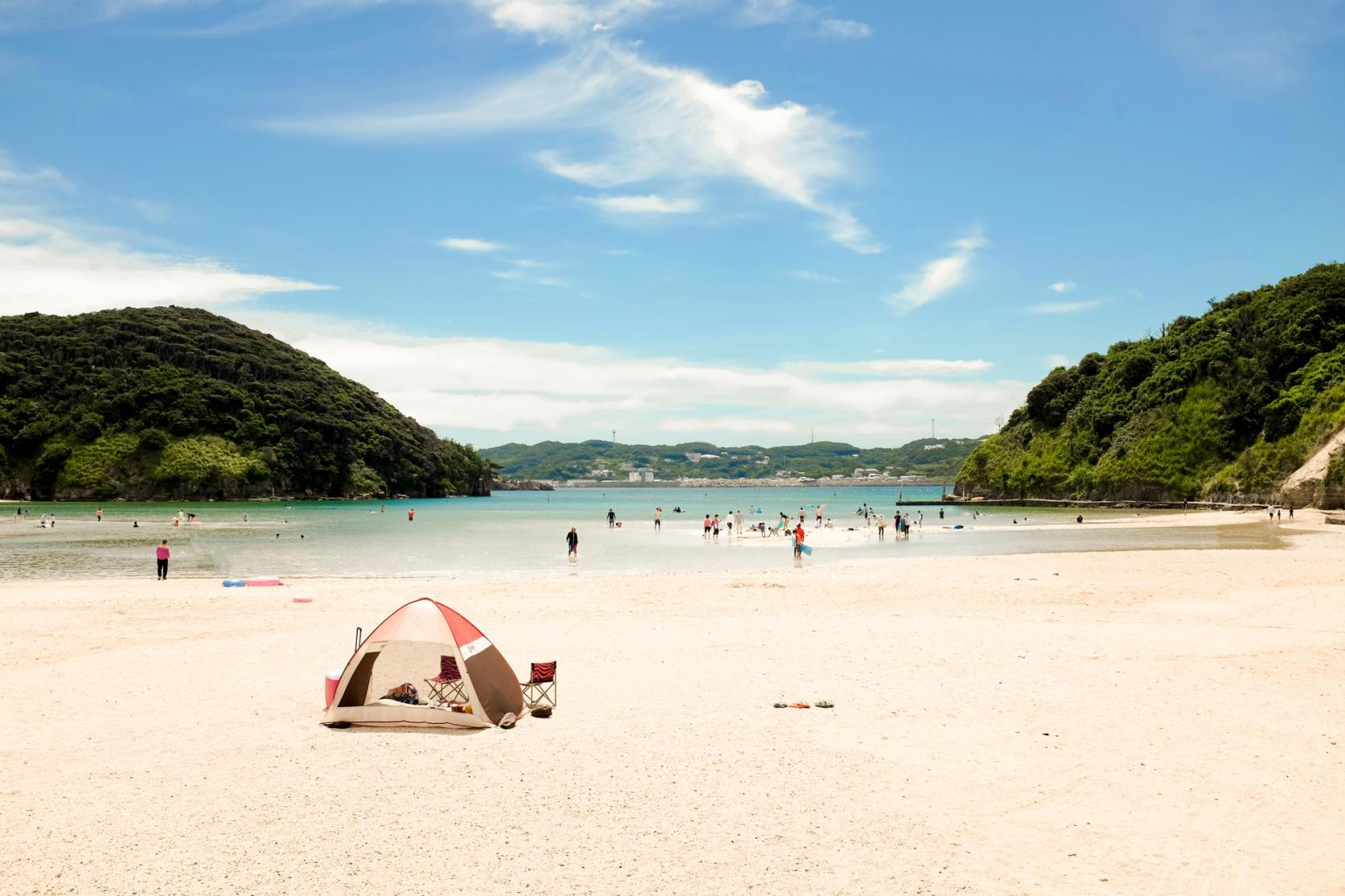 辰ノ島海水浴場-1