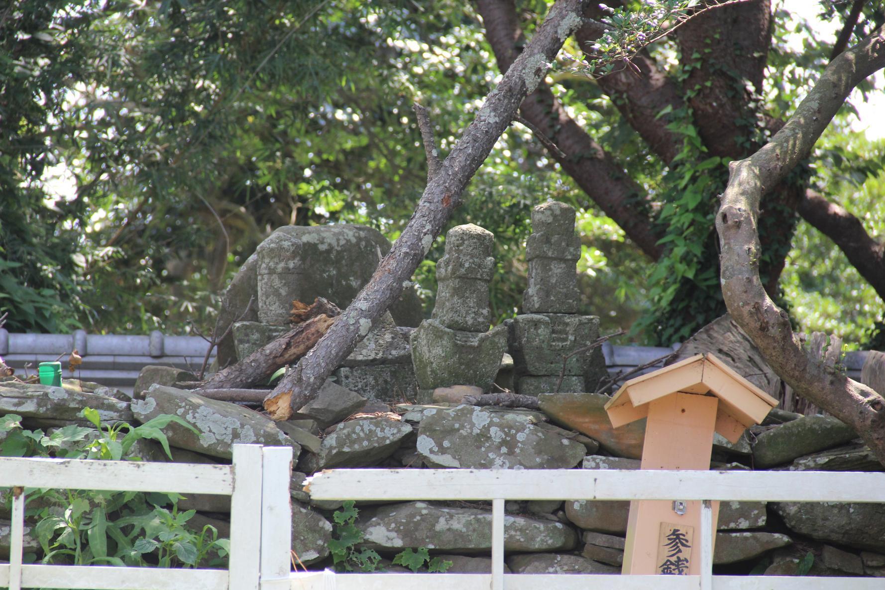 【2日目】少貳資時の墓(少弐公園 壱岐神社)-1