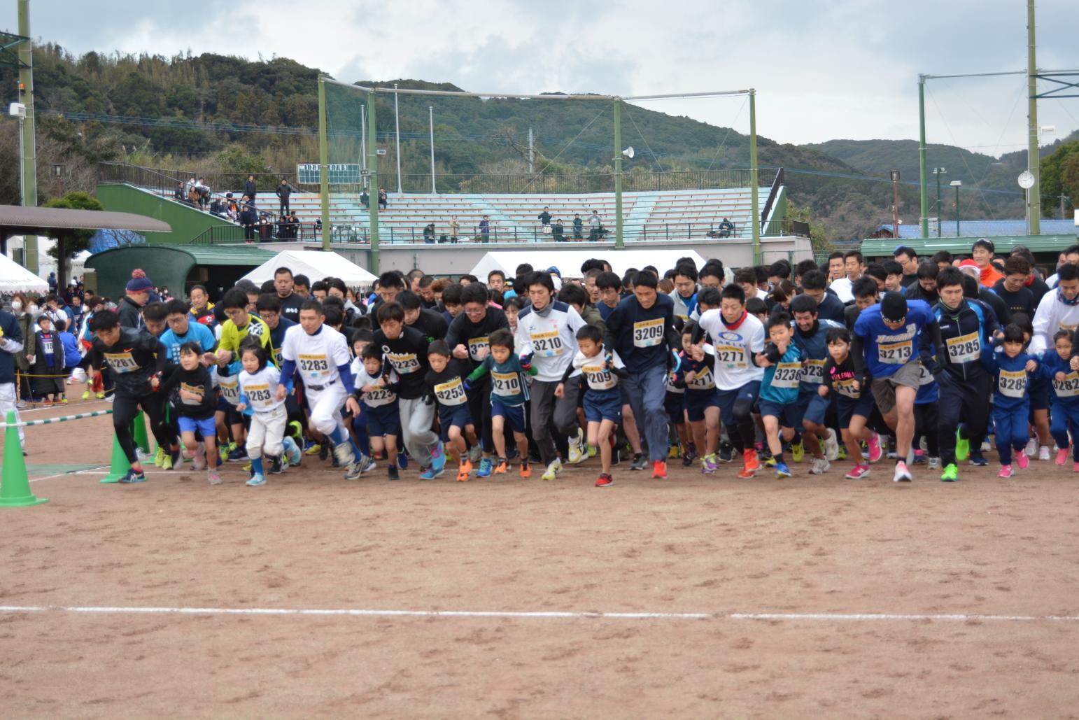 【終了しました】壱岐新春マラソン-3
