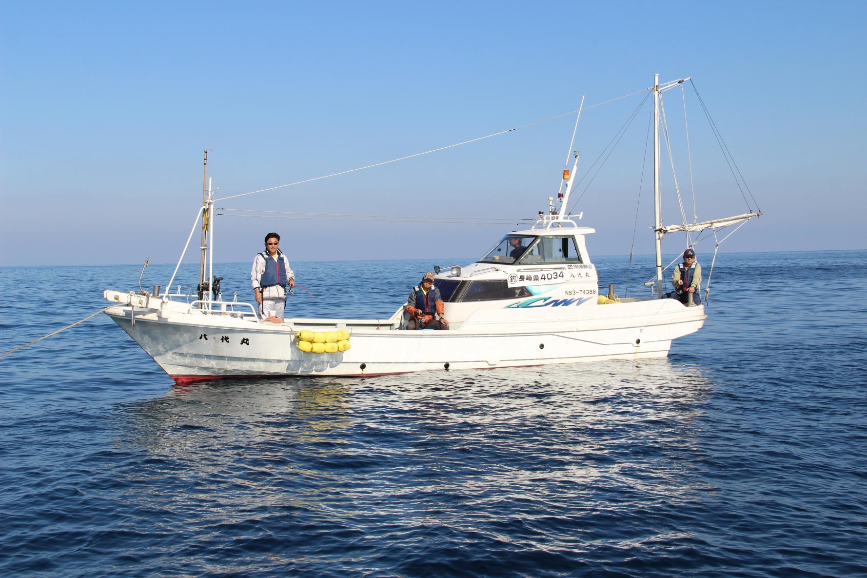 漁師と行く船釣り体験-1