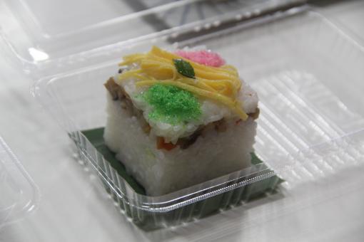 押し寿司作り体験-1