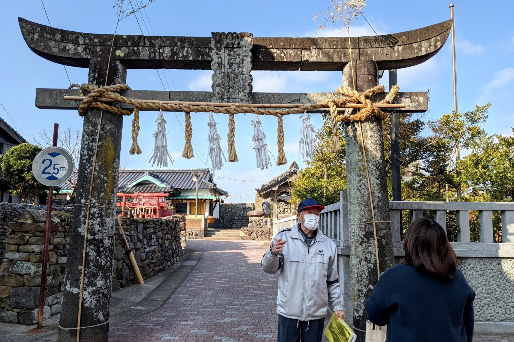 勝本歴史まち歩き-8