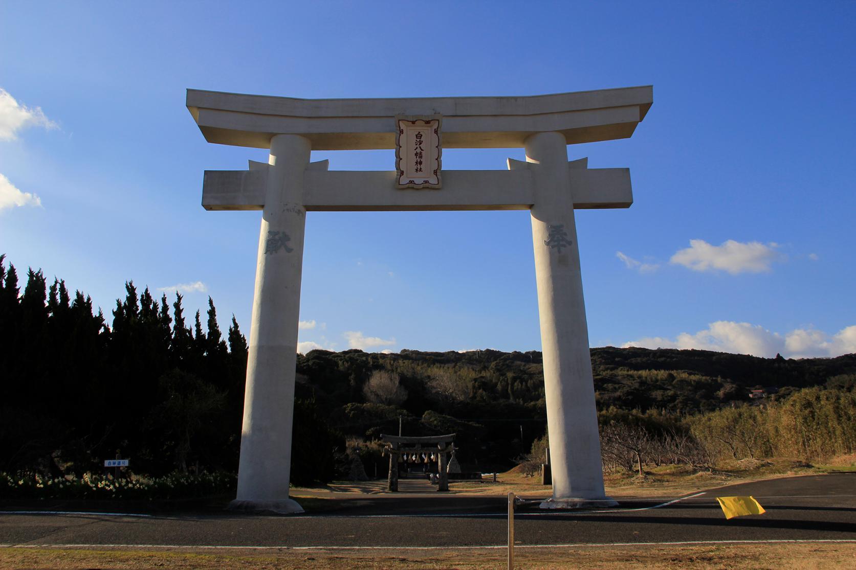 白沙八幡神社-1