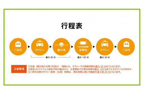 長崎県民限定「お食事+タクシー」日帰りプラン-1