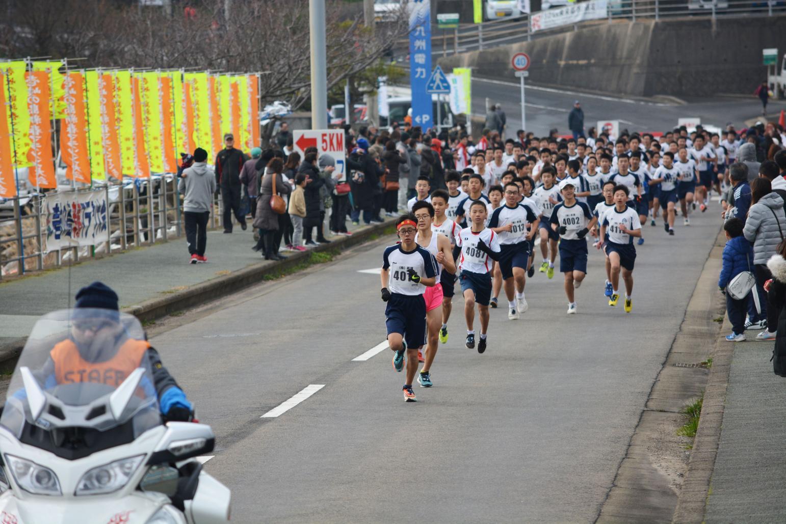 壱岐の島新春マラソン大会-2
