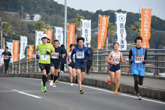 壱岐の島新春マラソン大会-3