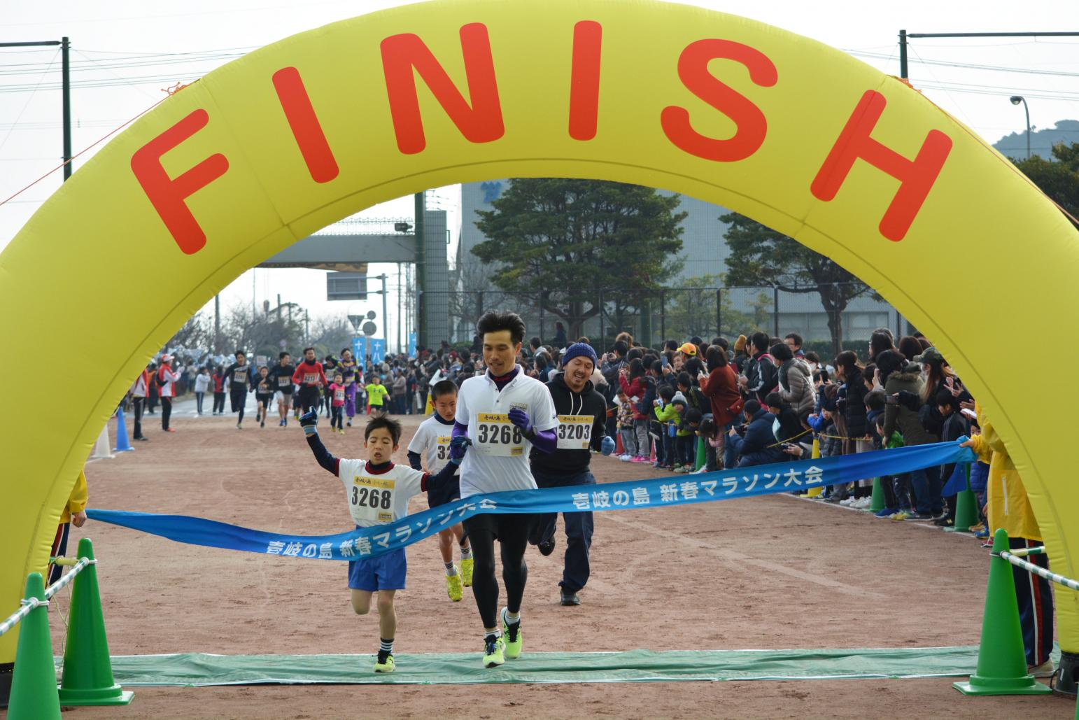 壱岐の島新春マラソン大会-5