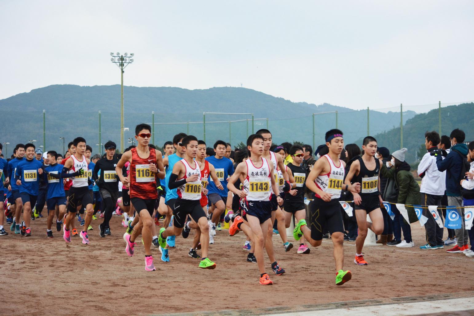 壱岐の島新春マラソン大会-4
